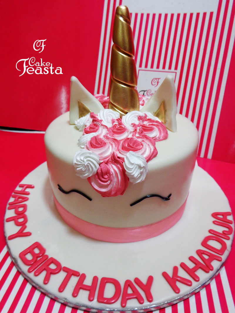 Unicorn Birthday Cake Unicorn Birthday Cake Customized Cakes In Lahore Free Delivery