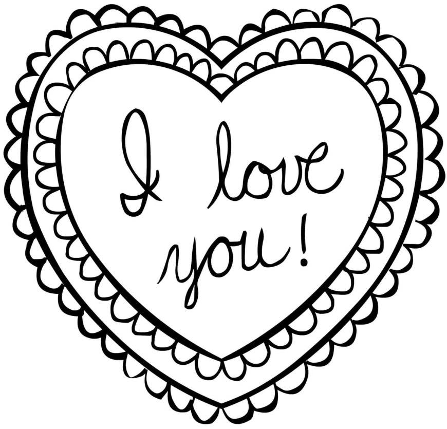 Valentine Day Coloring Pages Coloring Pages For Kids For Valentine With Valentines Day Coloring