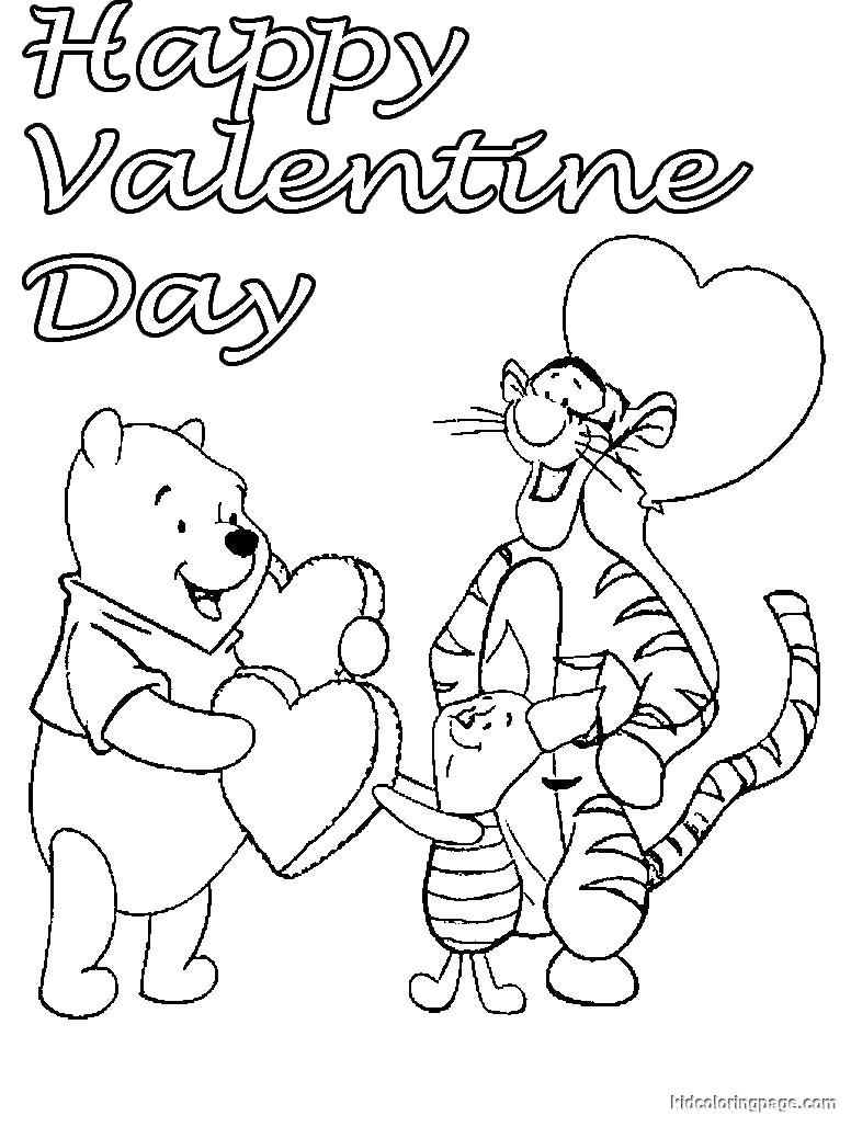 Valentine Day Coloring Pages Disney Valentines Day Coloring Pages 1 Aa Free Printable Page