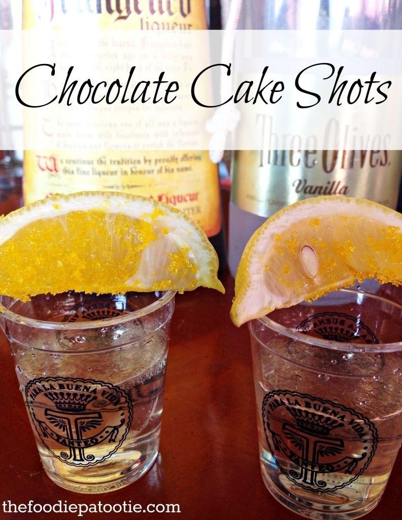 Vanilla Birthday Cake Shot How To Make Chocolate Cake Shots Ausreise Info
