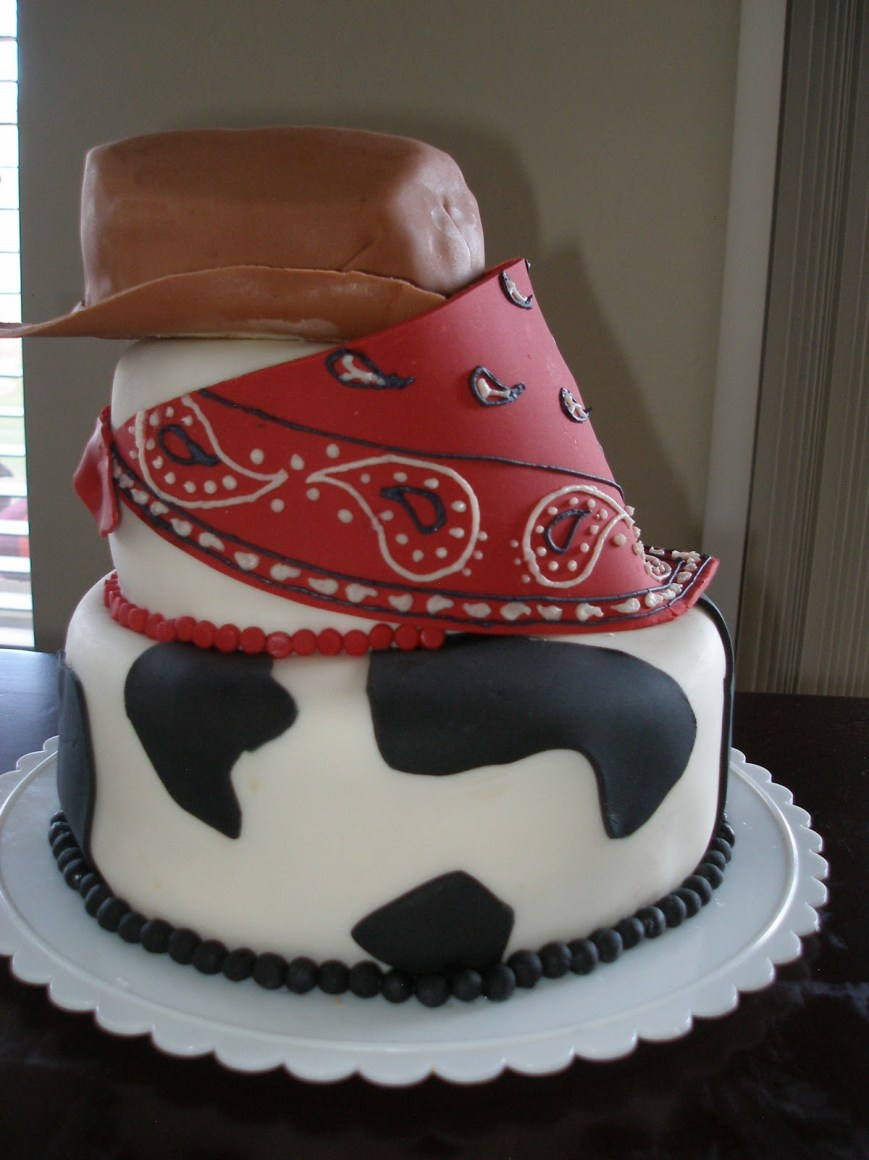 Western Birthday Cakes D And T Catering Cowboy Cake