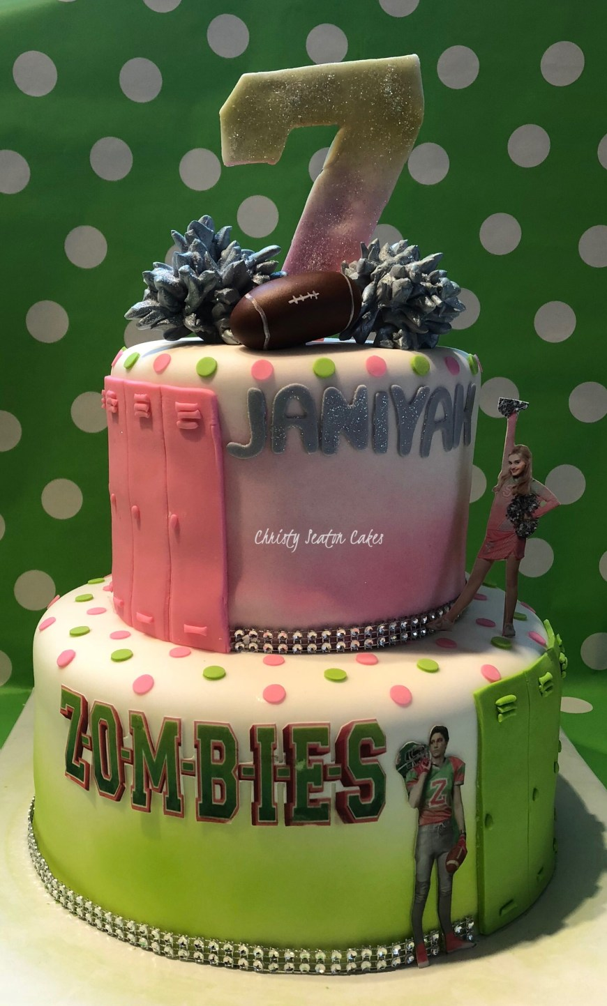 Zombie Birthday Cake Disney Zombie Birthday Cake Cakes I Create Pinterest Zombie