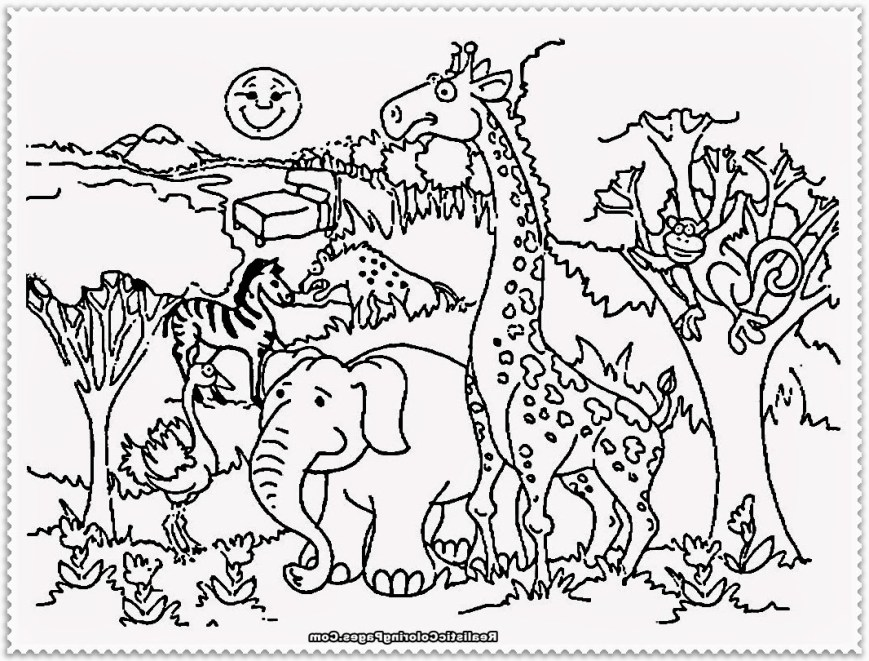 Zoo Coloring Pages Zoo Coloring Pages Wecoloringpage Animal Best Of Animals Wuming