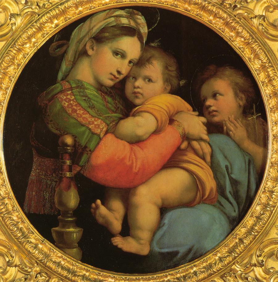 Raphael's Madonna Della Seggiola