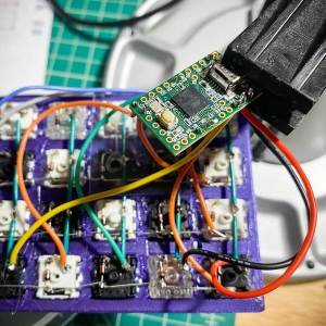 Wiring Planck Keyboard