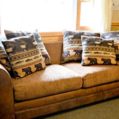 Sofa Sleeper For Cabin Frankfort White Convertible Sectional Bed Daven Haven Cabins In Grand Lake Highslide Js