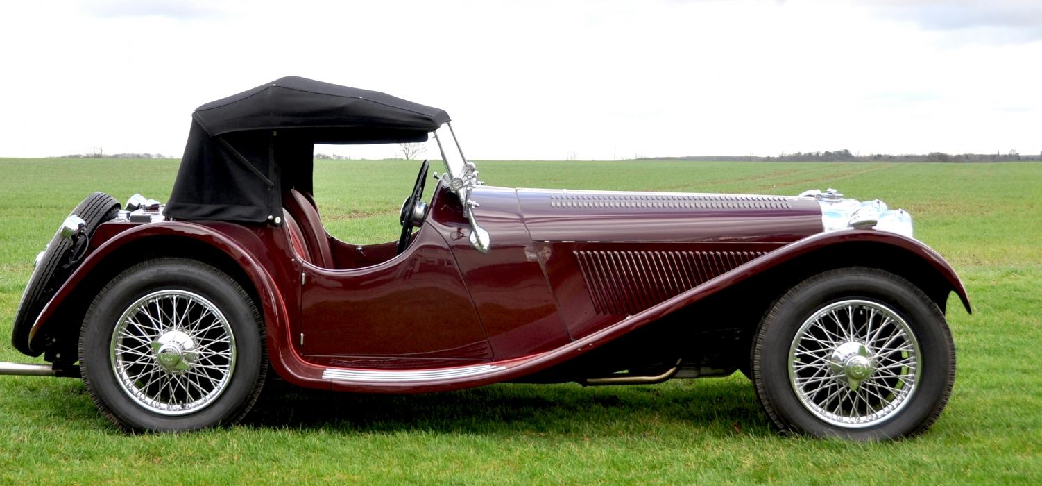 For Sale - 1937 SS100 2.5 Litre Jaguar