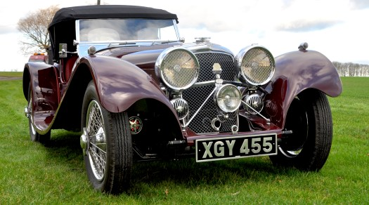 For Sale SS100 1937 Vintage Car, Classic Car, Classic Cars for sale UK
