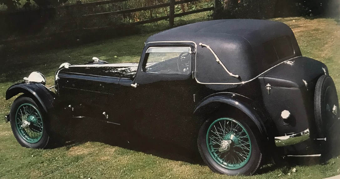 1932 Jaguar SS1, Coupe, Chassis, George Brough, Motorcycle, Legend, Jaguar
