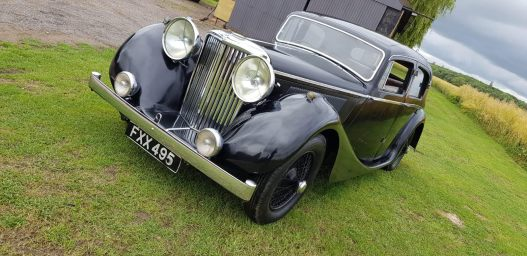 FOR SALE- 1939 SS 3.5 Litre Saloon