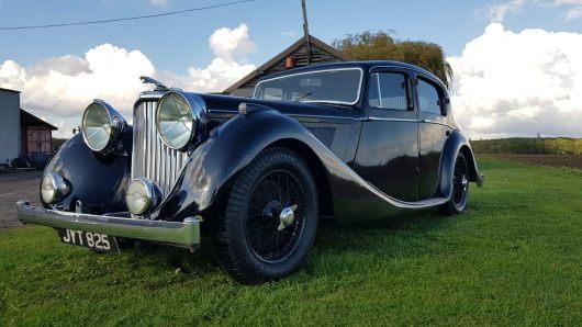 For Sale 1948 Jaguar 3.5 litre Mk4 saloon