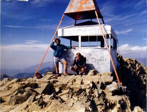 Atop Timanogos Mountain, Utah circa 1987