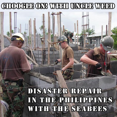 Disaster Repair in The Philippines with the SeaBees – Choogle On! #103