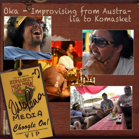 Oka Improvising from Australia to Komakset – Choogle On! #93
