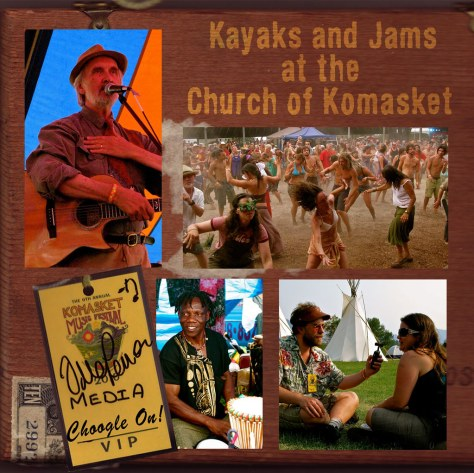 Kayaks and Jams at the Church of Komasket – Choogle On #97