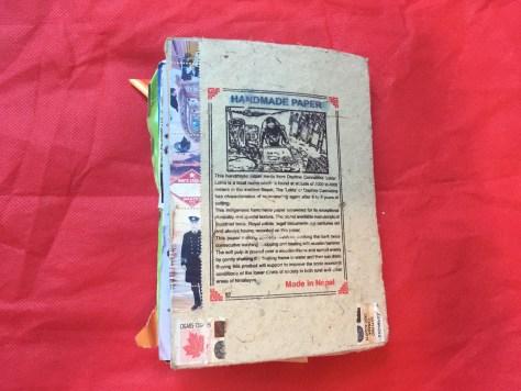 Scrapbook: Maritimes, 2017 (Nepal book, back cover)