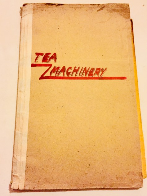 Tea Machinery –Sri Lanka Books & Ledgers