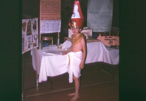 Science fair: Grade 5, Tutankhamun's Tomb