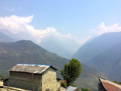 annapurna - village - house
