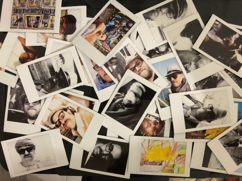 Cards: Insta-snaps, printed to share with pals as mementos