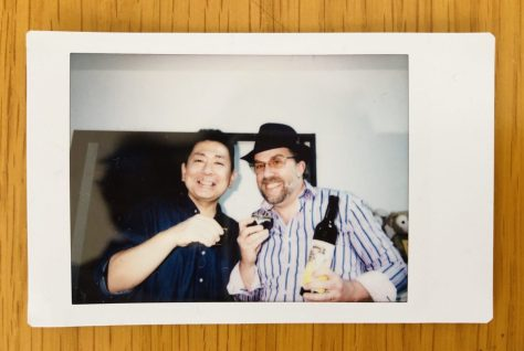 Kojo-san (the master) and Dave