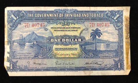 Trinidad and Tobago: 1 Dollar (back)
