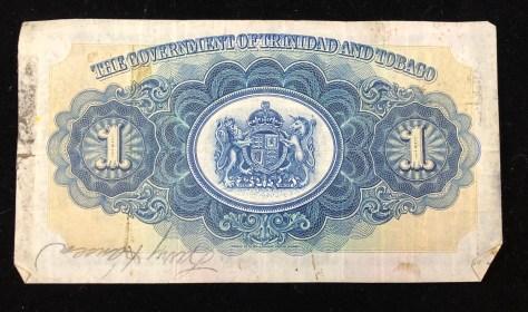 Trinidad and Tobago: 1 Dollar (back)