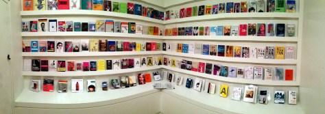 Coupland bookshelf