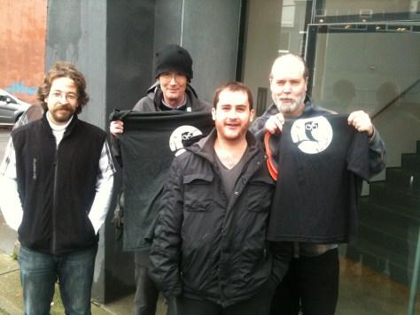 Hoot gang with Doug and Bill