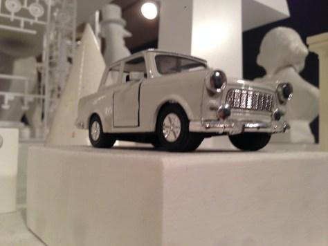 Small roadster model (grey)