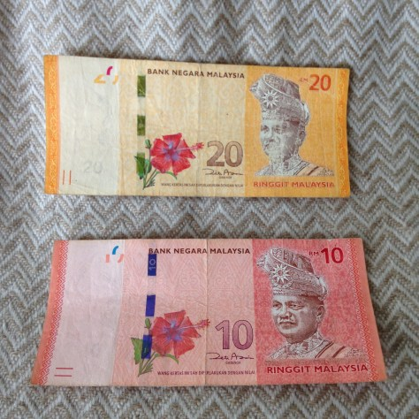 Malaysia: Riggnit (10 & 20, front)