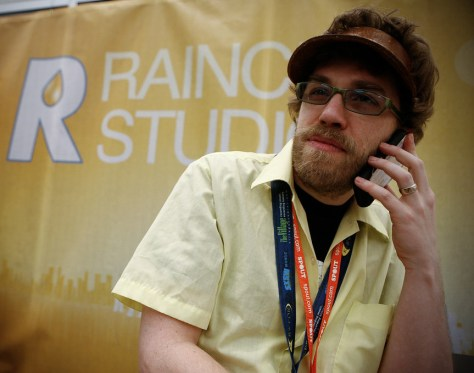 Dave O at Raincity HQ at SXSW 2008