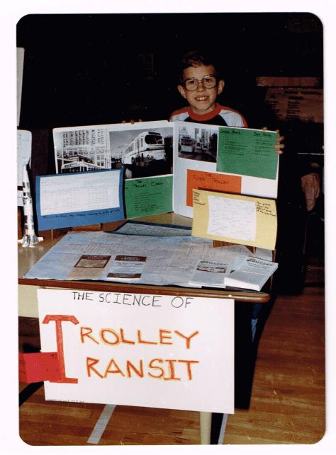 Science fair: Grade 4, Trolley Transit