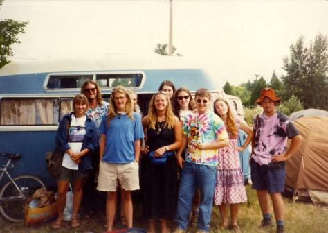 Grateful Dead Roadtrip to Eugene 1990 - Pals and Earthship VW bus