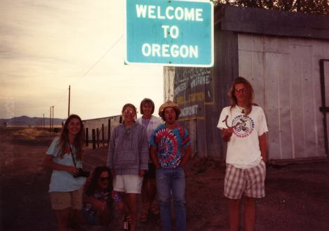 Grateful Dead Roadtrip to Eugene 1990 - Welcome to Oregon