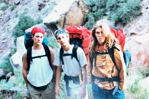 Grand Canyon – 3 guys and their packs