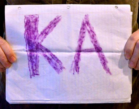 KA stands for Karlsruhe (Germany)