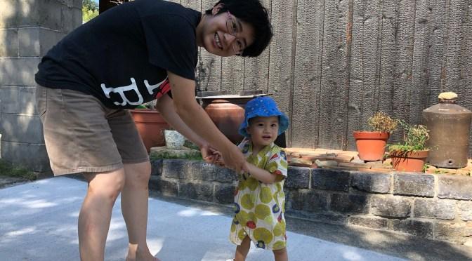 Annotations: Ichiro always eating, almost walking