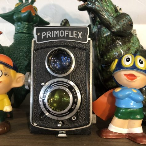 Artifacts: camera, Primoflex, black (in a coffee shop in Nozawa Onsen)