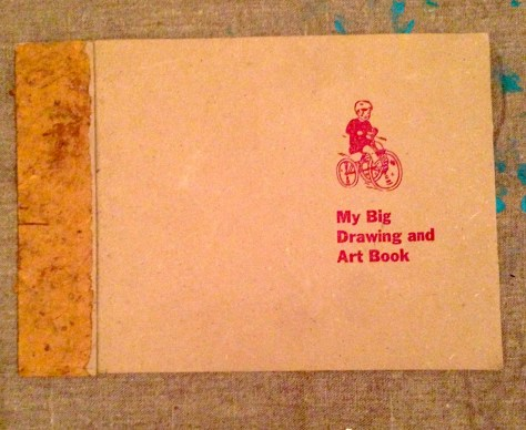 "Scrapbook: assembly ""My Big Drawing and Art Book"" (made circa 1996)"