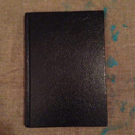 Journal: stories, poems, musings, circa 2014-17 (black, plain hardback cover)