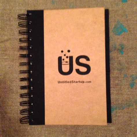 Notebook: Untitled Start-up cover, 2017