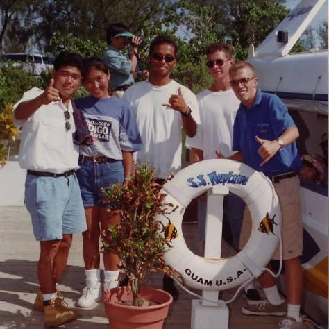 SS Neptune tour: Guam, Micronesia