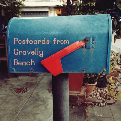 Pod cover - Postcards from Gravelly Beach - Blue Box Hip Inn
