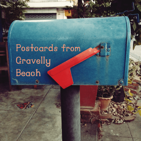 Pod cover - Postcards from Gravelly Beach - Blue Box Hip Inn