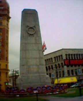 Victory Square Vancouver Cenotaph