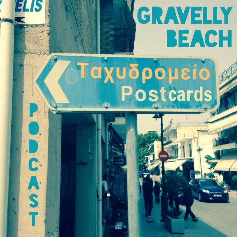 Postcards from Gravelly Beach - Greece Post Office