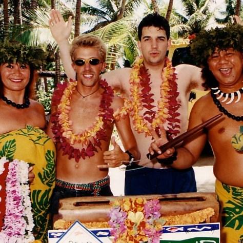 Beach Club Host: daveo disguised
