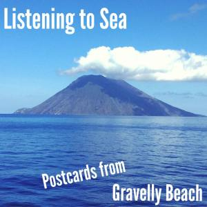 Pod bonus: postcard 74 - listening to sea - vesuvius