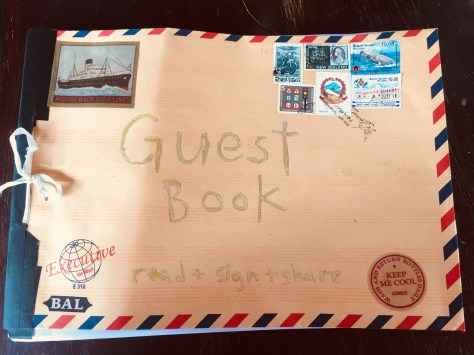 Scrapbook: Guestbook, Ceningan Resort (front cover), 2018